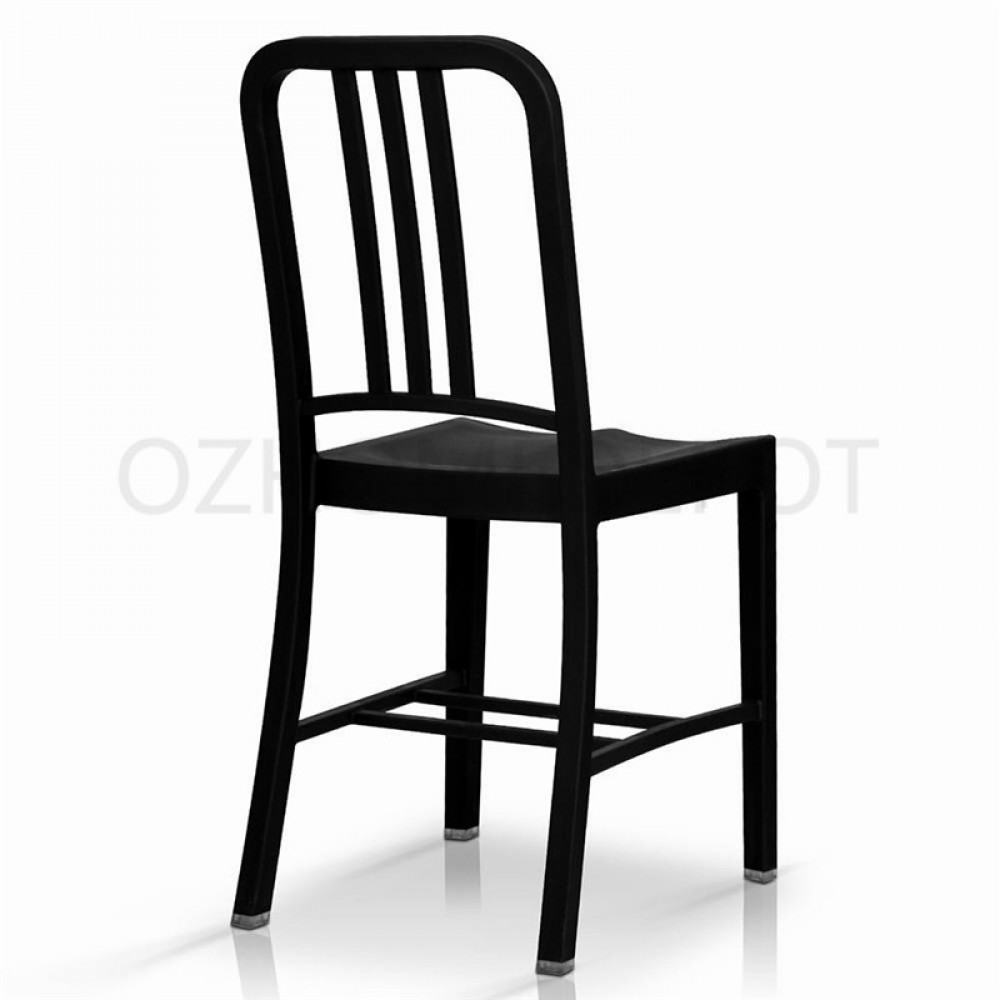brand new replica emeco navy dining chair black white